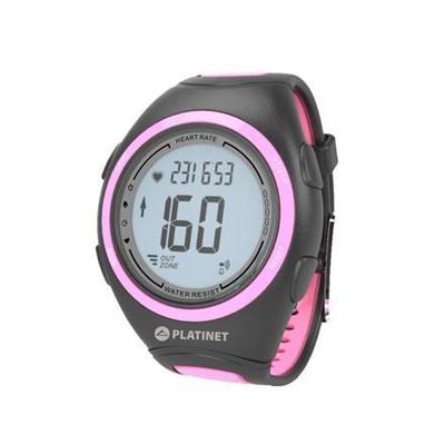 RELÓGIO SPORT WATCH PLATINET HEART RATE MONITOR PRETO/ROSA PHR207P 42353